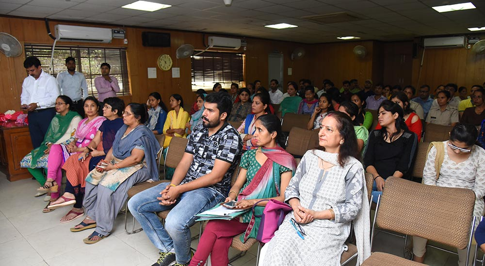 Cancer Awareness Program at Mini Secretariat, Gurugram