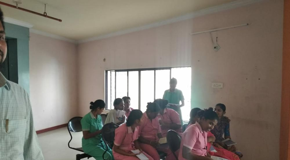 Nurses Training Program Cum Book Launch, Hyderabad