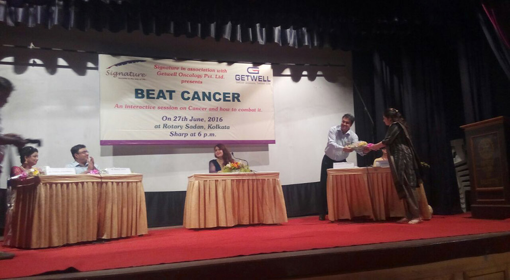 Breast Cancer Awareness program on TV