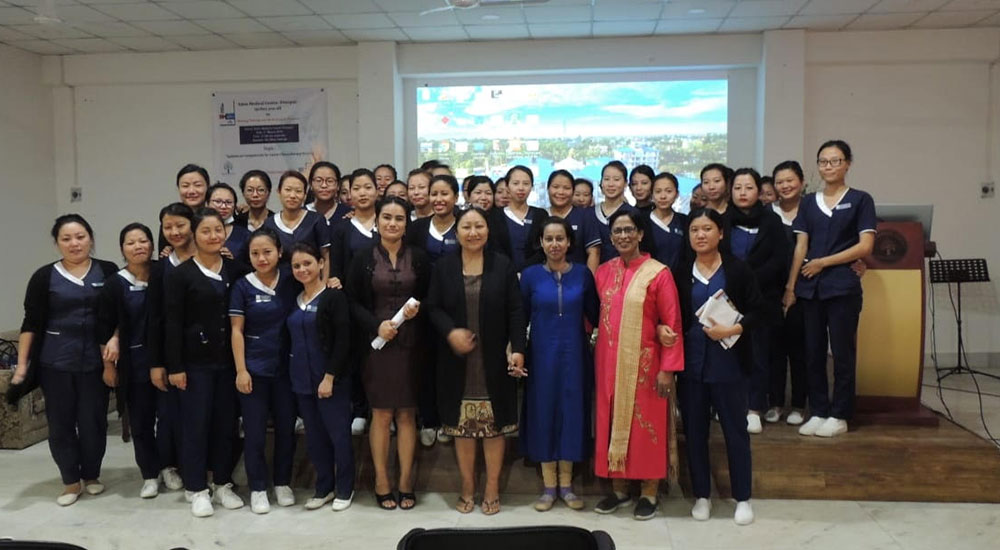 Nurses Training cum Book Launch Program at Eden Medical Centre, Dimapur, Nagaland
