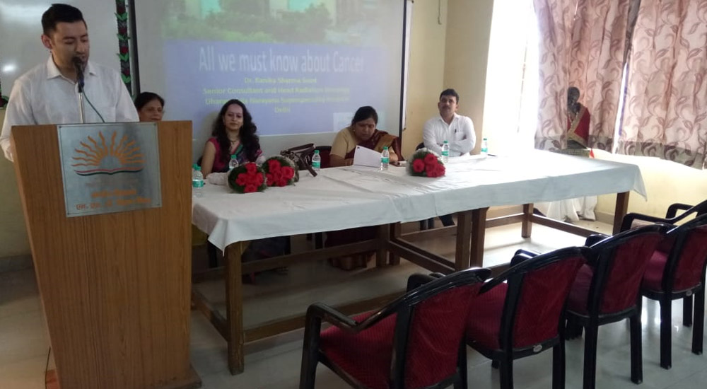 Cancer Awareness Program at Kendriya Vidyalaya, New Delhi