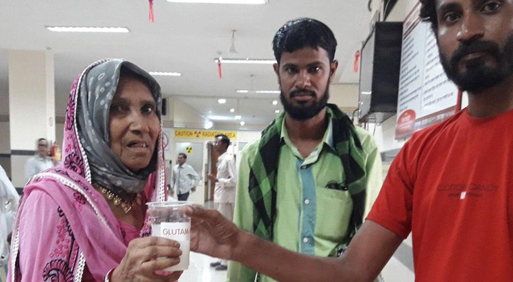 Glutam Camp at Government Cancer Hospital, Aurangabad