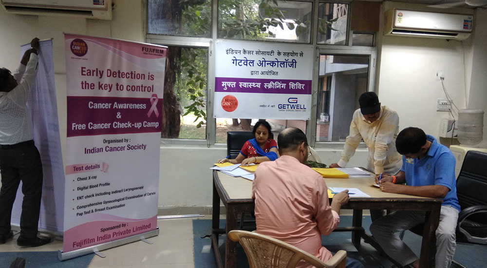 Health Checkup Camp, Police Lines, Gurgaon | Getwell