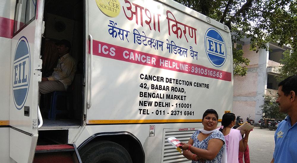 Health Checkup Camp at Police Line, Gurgaon