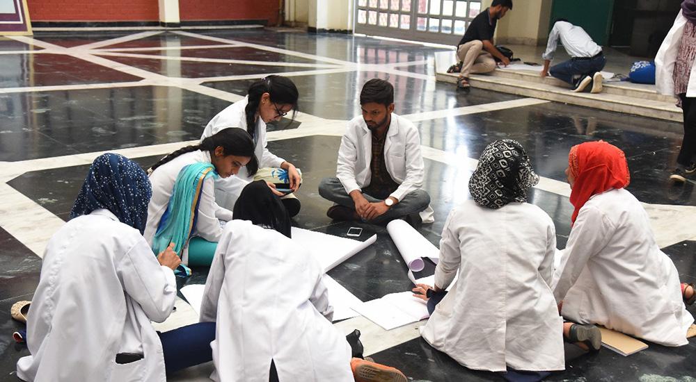 Cancer Awareness Program at Hamdard Institute of Medical Sciences and Research, Jamia Hamdard University, New Delhi