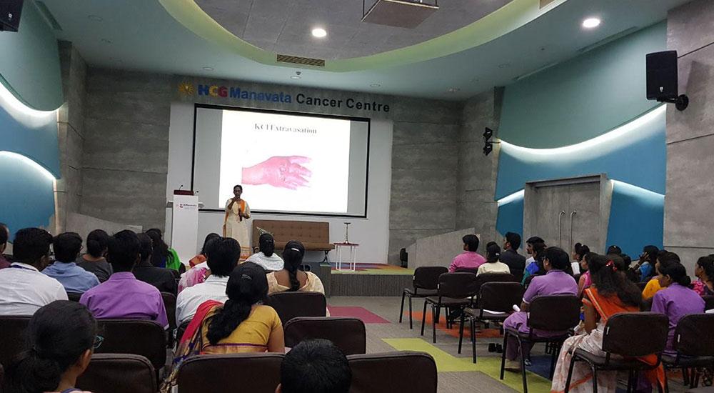 Nurses Training Cum Book Launch Programme
