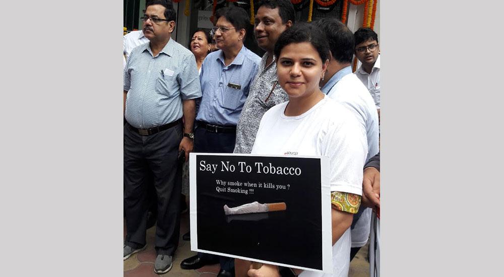 No Tobacco Day Program walk, Kolkata